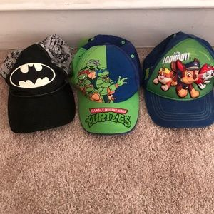 Boys character hats